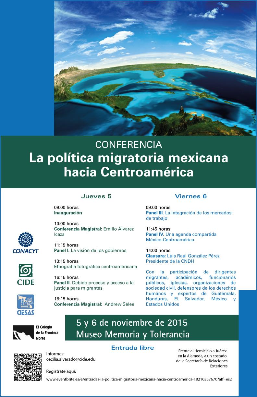 «La política migratoria mexicana hacia Centroamérica»