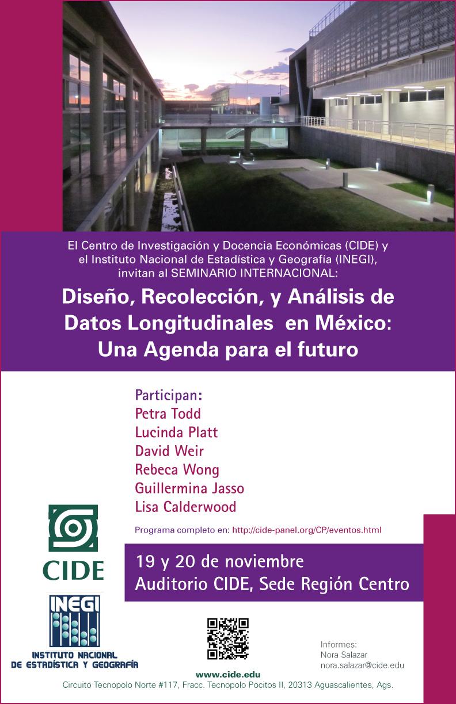 Diseño, Recolección y Análisis de Datos Longitudinales en México