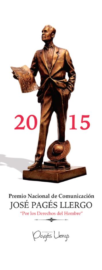 """El Dr. Mauricio Merino ganó el Premio Nacional de Comunicación José Pagés Llergo 2015 en la categoría """"Democracia y  Rendición de Cuentas""""."""