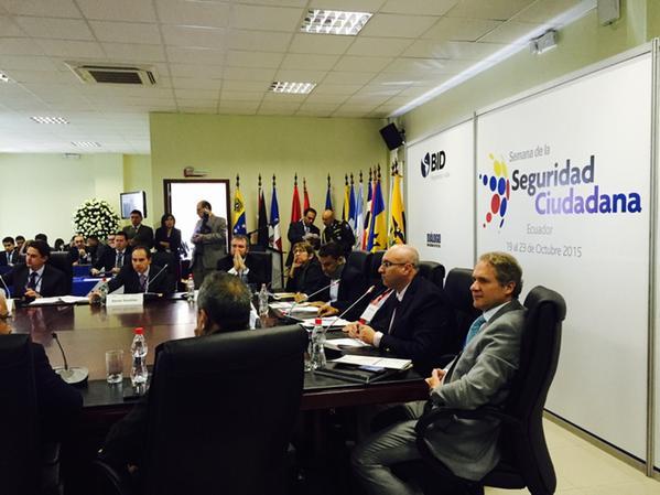 El Profesor Carlos Vilalta (LNPP-CIDE) fue designado Asesor Académico del Tercer Dialogo Regional de Seguridad Ciudadana que se celebra en la ciudad de Quito