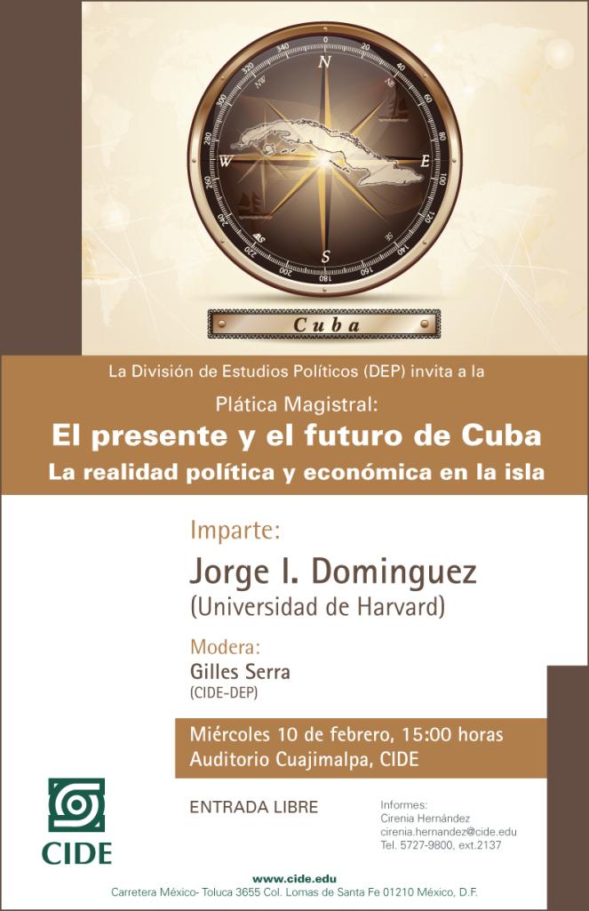 «El presente y el futuro de Cuba. La realidad política y económica de la isla»