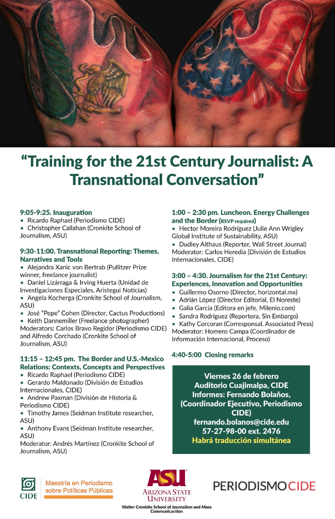Training for the 21st Century Journalist: A Transnational Conversation