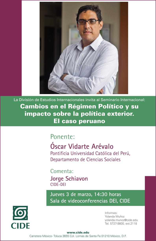 Cambios en el Régimen Político y su impacto sobre la política exterior. El caso peruano