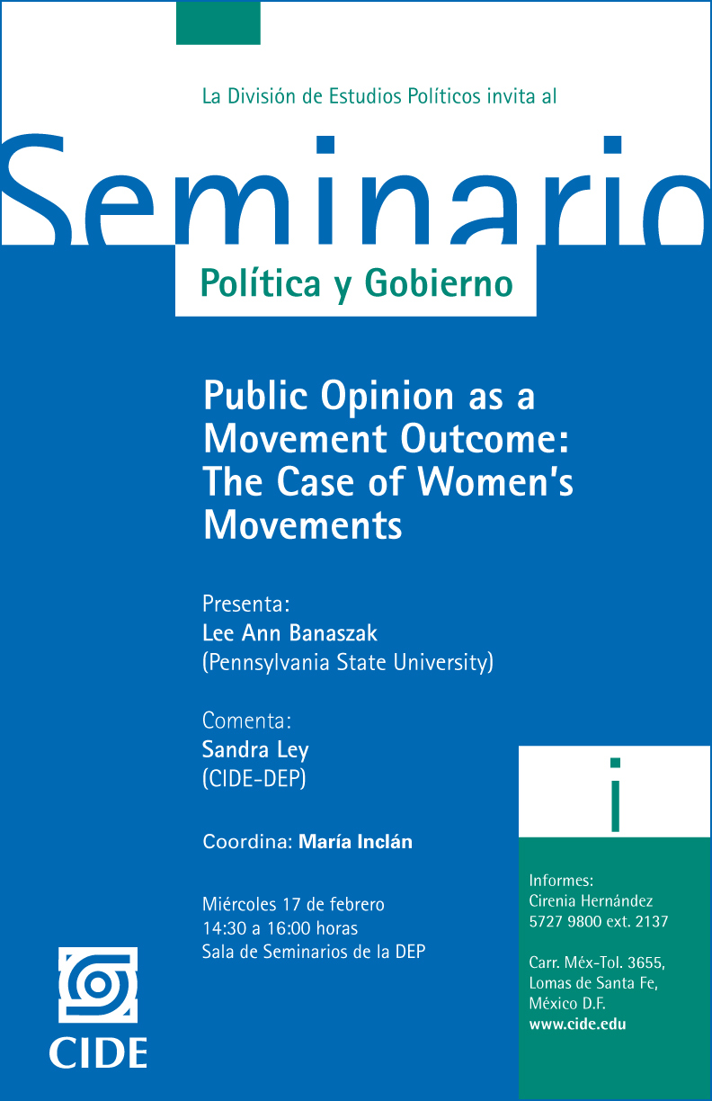 Public Opinion as a Movement Outcome: The Case of Women´s Movements