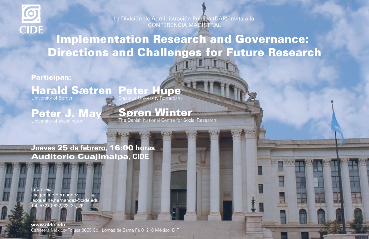 Implementation Research and Governance: Directions and Challenges for Future Research