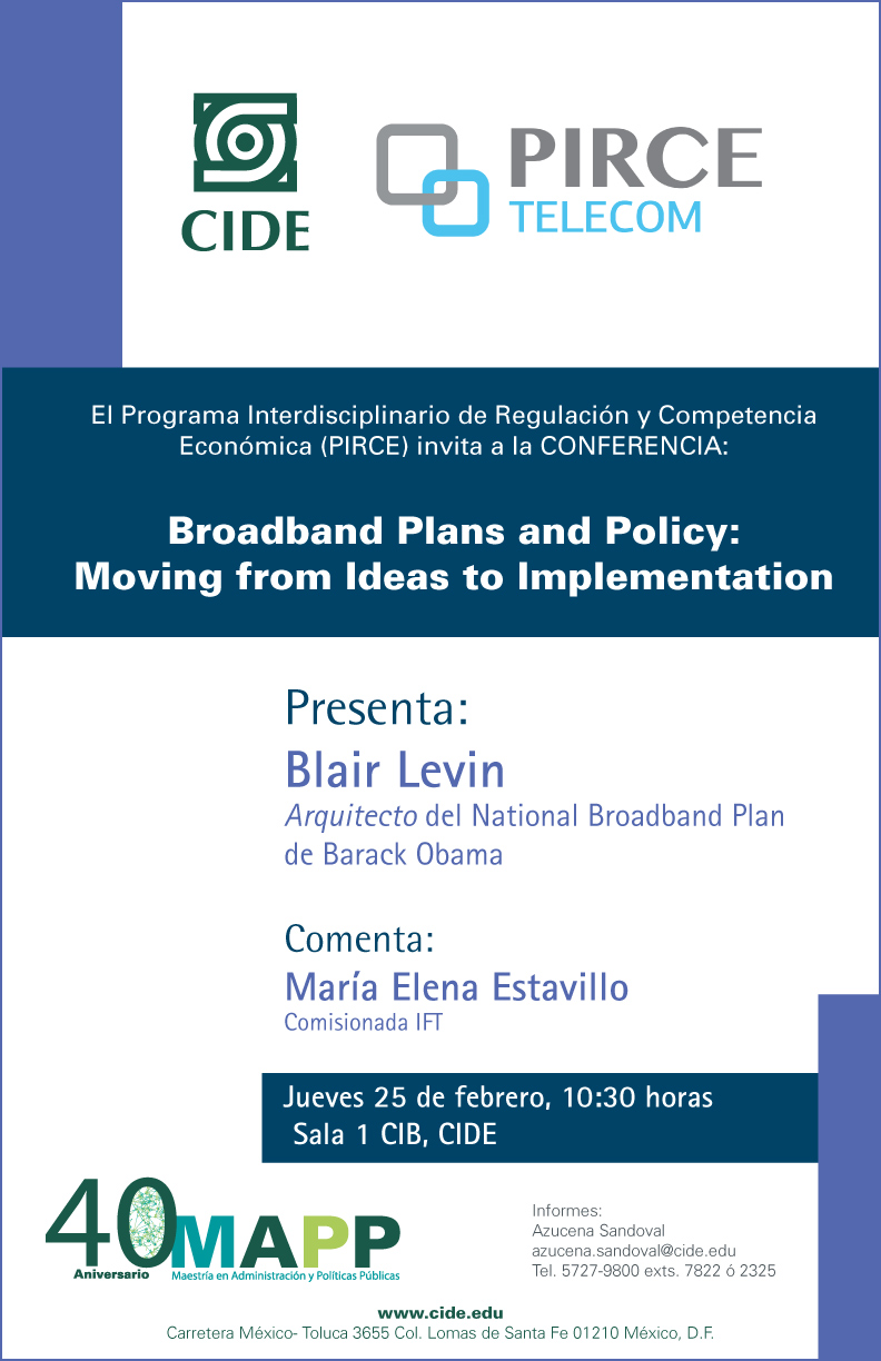 Broadband Plans and Policy: Moving from Ideas to Implementation