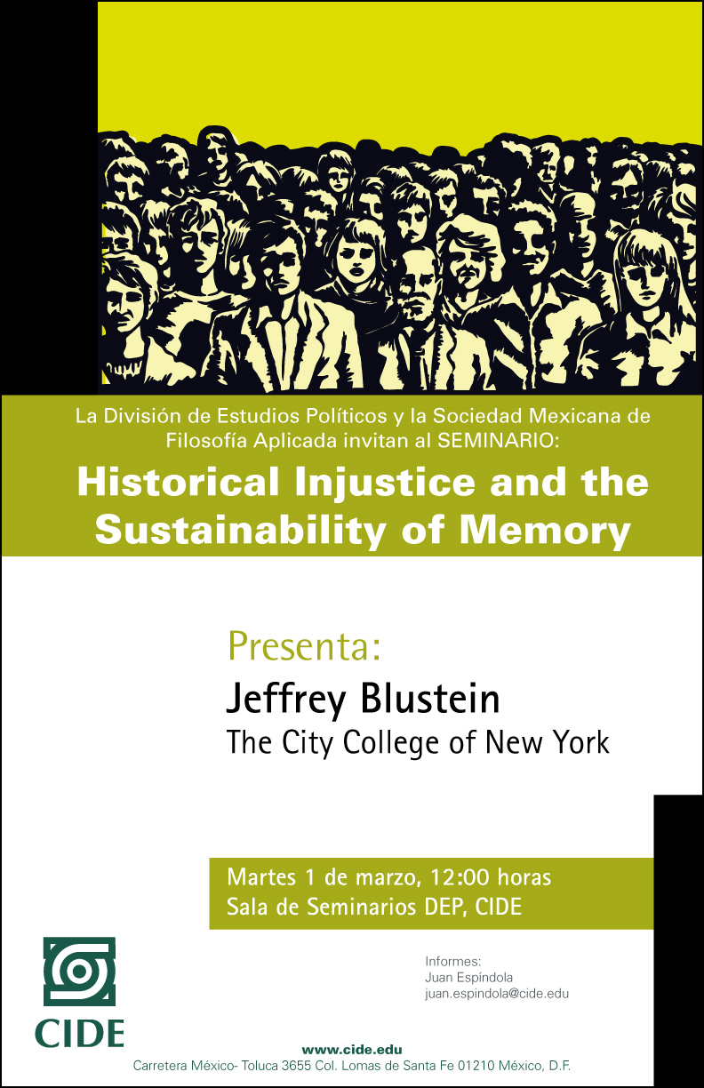 Historical Injustice and the Sustainability of Memory