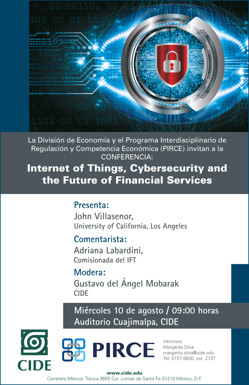 Conferencia «Internet of Things, Cybersecurity and the Future of Financial Services»
