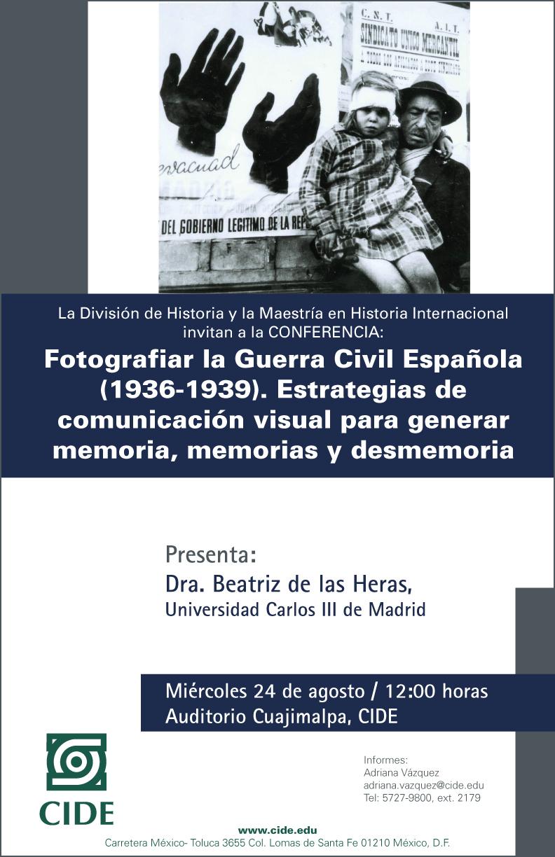 Conferencia «Fotografiar la Guerra Civil Española (1936-1939)