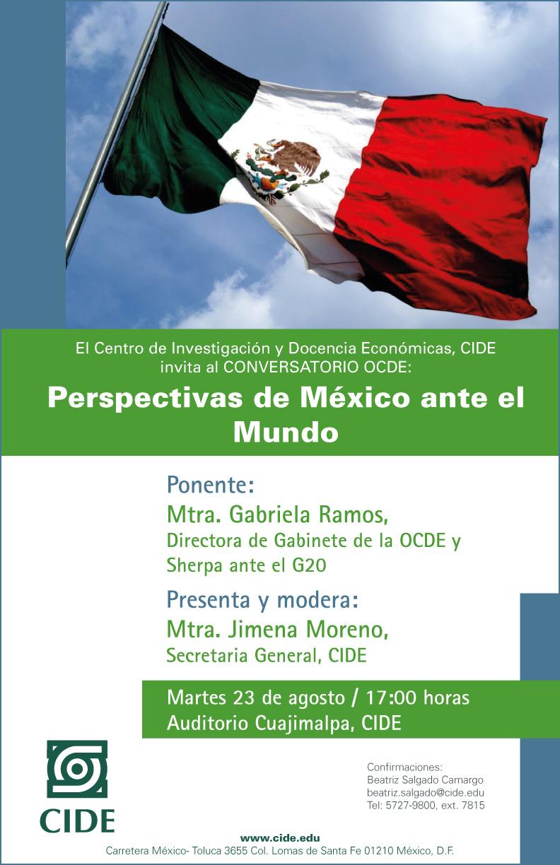 Conversatorio «Perspectivas de México ante el Mundo»