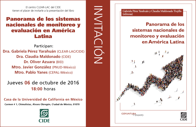 Presentación «Panorama de los sistemas nacionales de monitoreo y evaluación de América Latina»