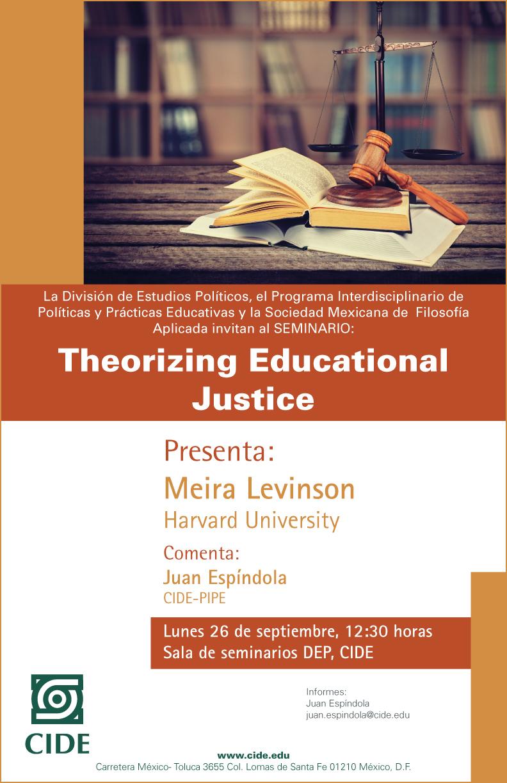 Seminario «Theorizing Educational Justice»