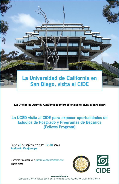 La Universidad de California en San Diego, visita el CIDE