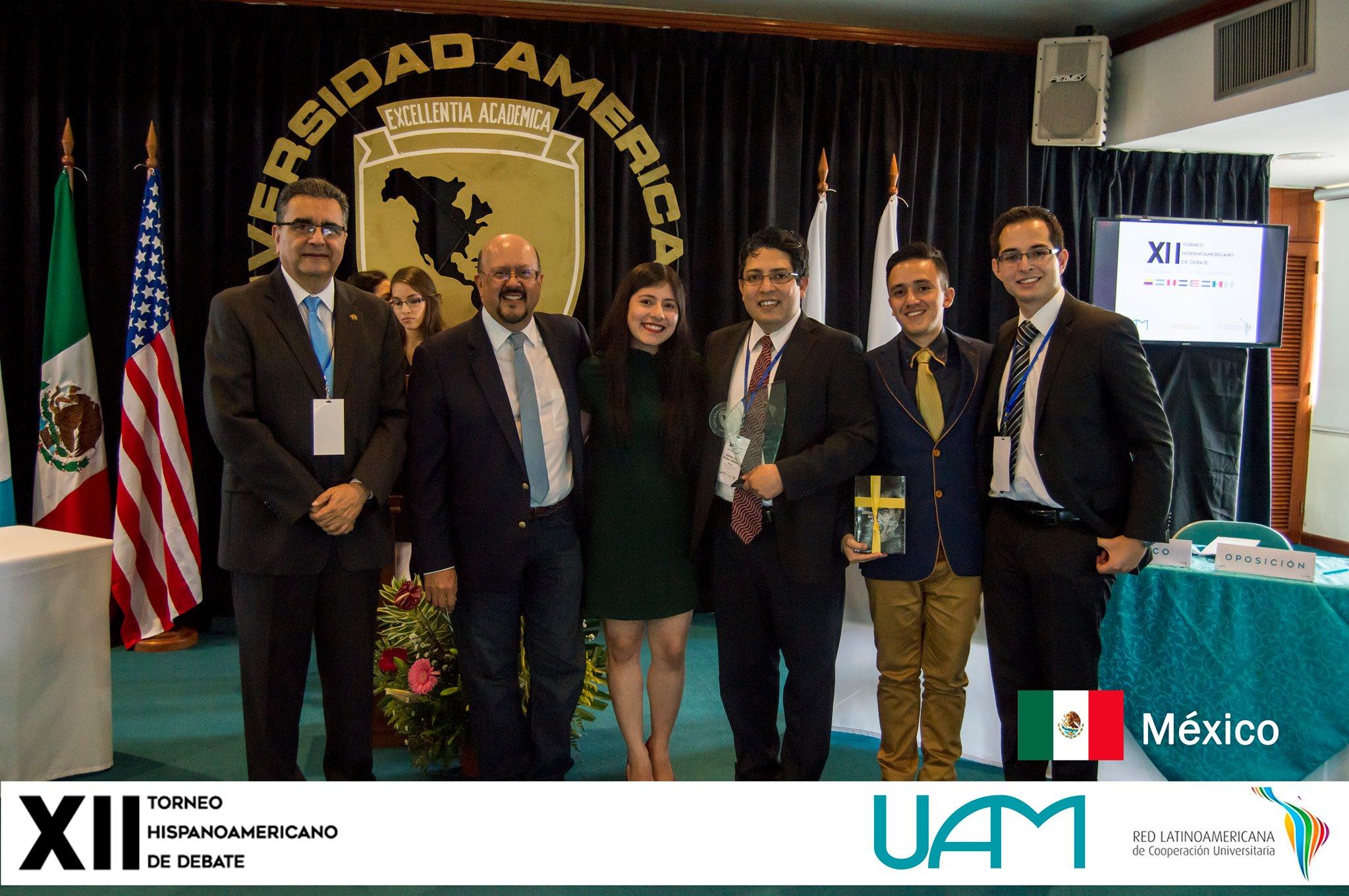Obtiene CIDE segundo lugar en Torneo Hispanoamericano de Debate