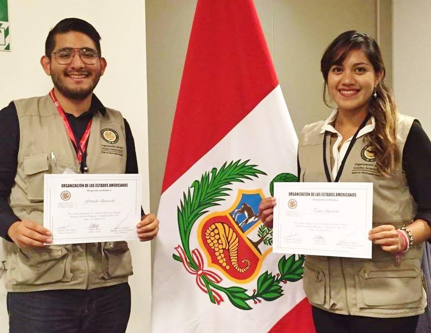 OEA invita a estudiantes del CIDE a ser observadores electorales internacionales en Perú