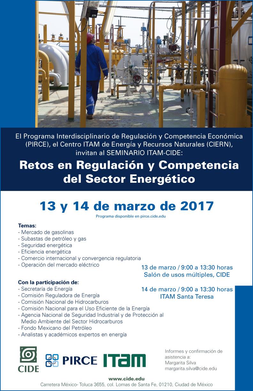 Seminario «Retos en Regulación y Competencia del Sector Energético»