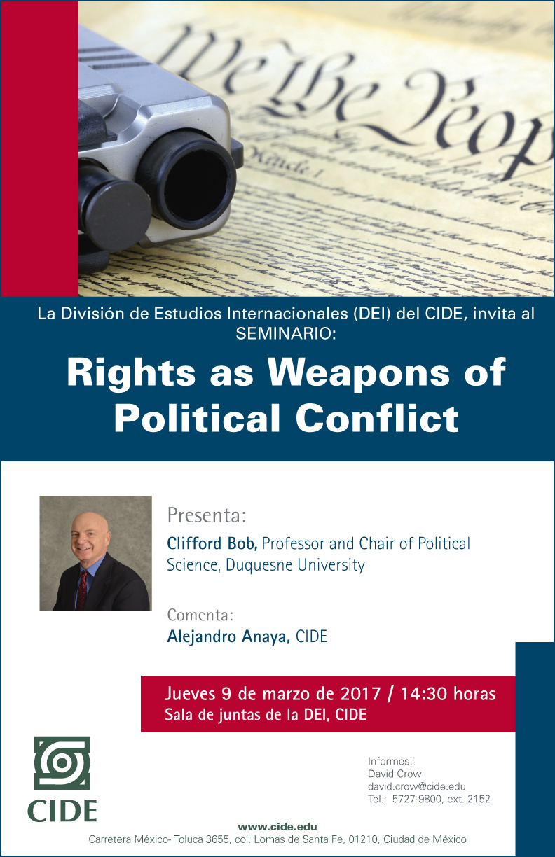 Seminario «Rights as Weapons of Political Conflict»