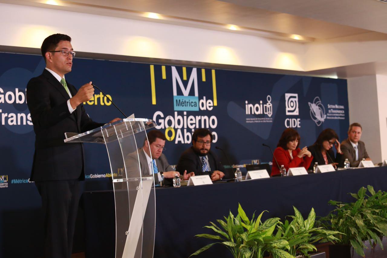 Presentan INAI y CIDE Métrica de Gobierno Abierto 2017