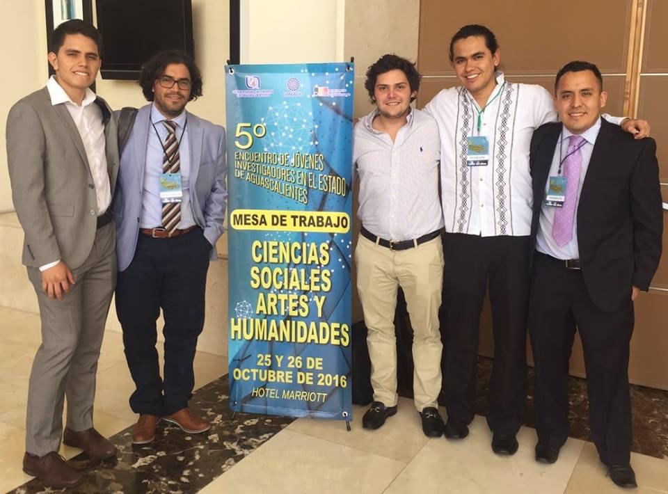 Egresados CIDE Región Centro ganan 5to Encuentro de Jóvenes Investigadores del Estado de Aguascalientes