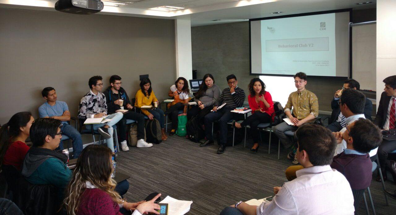 Las ciencias de la conducta aplicadas en el Laboratorio Nacional de Políticas Públicas