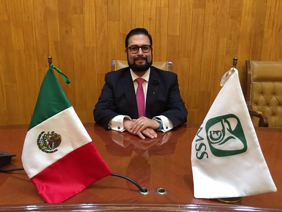 Jorge Esquinca fue nombrado Titular de la Unidad de Operación Financiera del IMSS