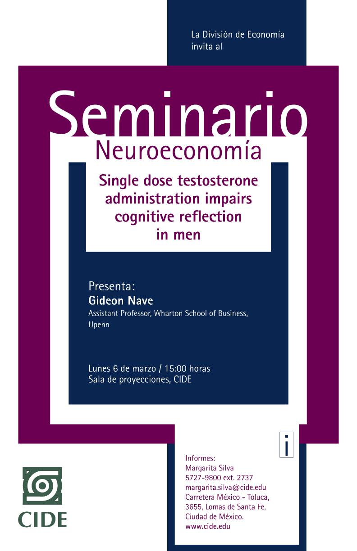 Seminario «Neuroeconomía»