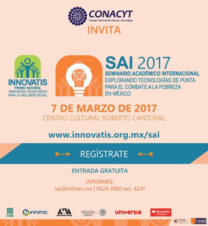 Seminario «Explorando Tecnologías de Punta para el Combate a la Pobreza en México»