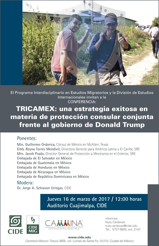 Conferencia «TRICAMEX: una estrategia exitosa en materia de protección consular conjunta frente al gobierno de Donald Trump»