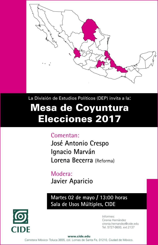 Mesa de Coyuntura Elecciones 2017
