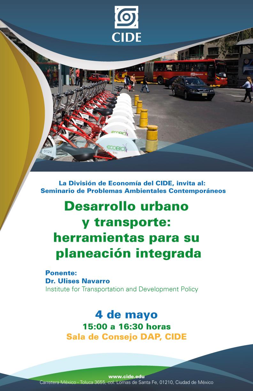 Seminario «Problemas Ambientales Contemporáneos»