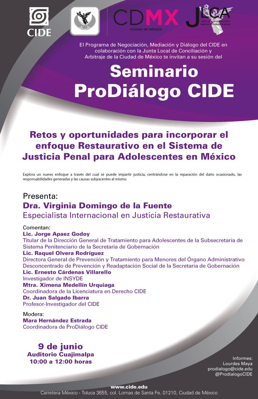 """Seminario """"ProDiálogo CIDE"""""""