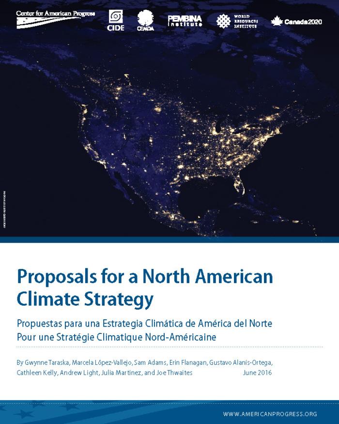 Importantes Centros de Investigación en México, Estados Unidos y Canadá llaman a líderes de los tres países a diseñar una estrategia regional de cambio climático