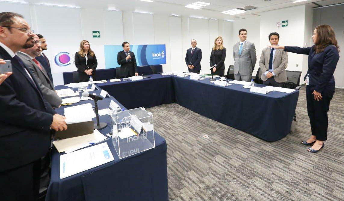 Eligen a María Solange presidenta del Consejo Consultivo del INAI
