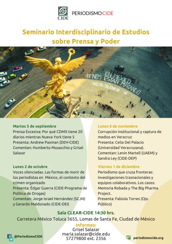 Seminario Interdisciplinario de Estudios sobre Prensa y Poder