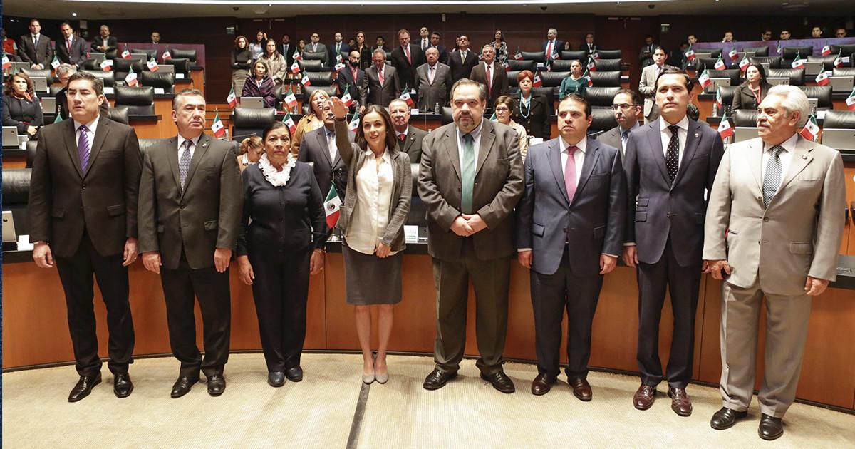 Alejandra Palacios Prieto toma protesta como presidenta de la Cofece