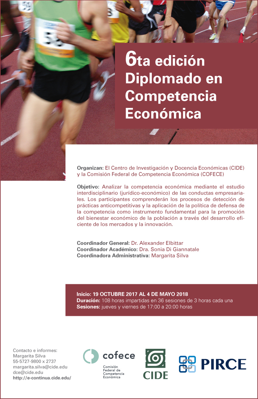 6ta edición Diplomado en Competencia Económica