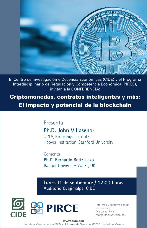 Criptomonedas, contratos inteligentes y más: El impacto y potencial de la blockchain