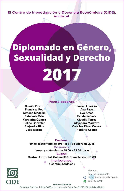 Diplomado en Género, Sexualidad y Derecho