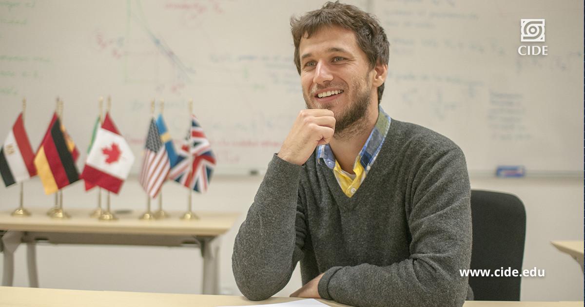 Tomas Damerau, estudiante del doctorado en Políticas Públicas del CIDE obtiene beca Georg Foster Research Fellowship