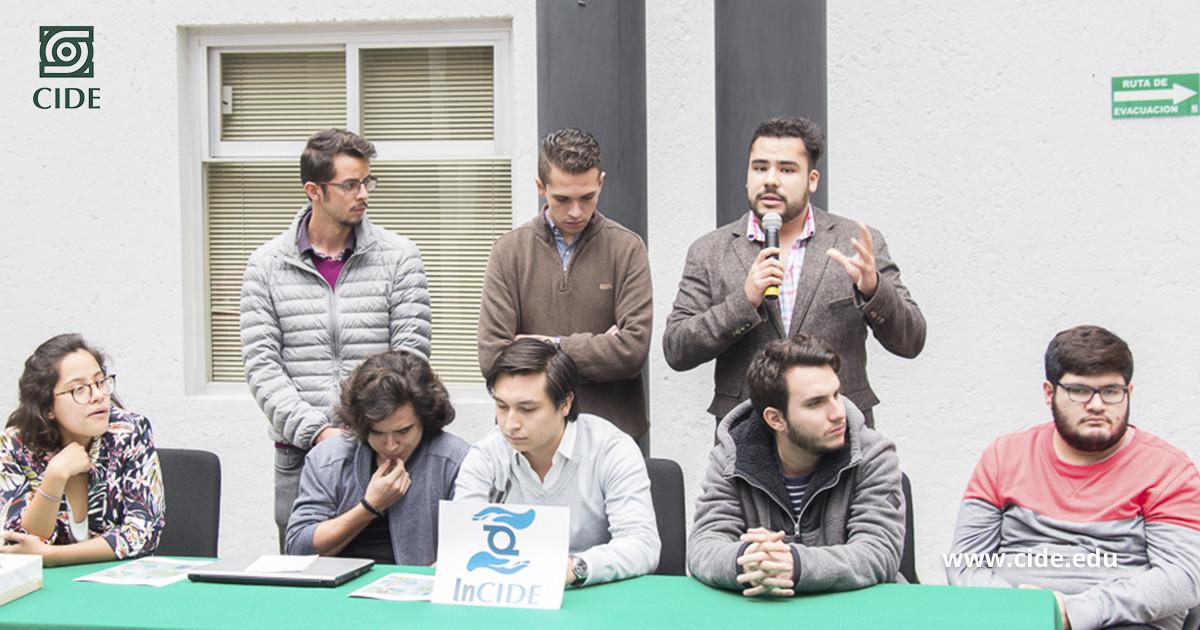 Lanza InCIDE, agrupación estudiantil que tiene causas sociales