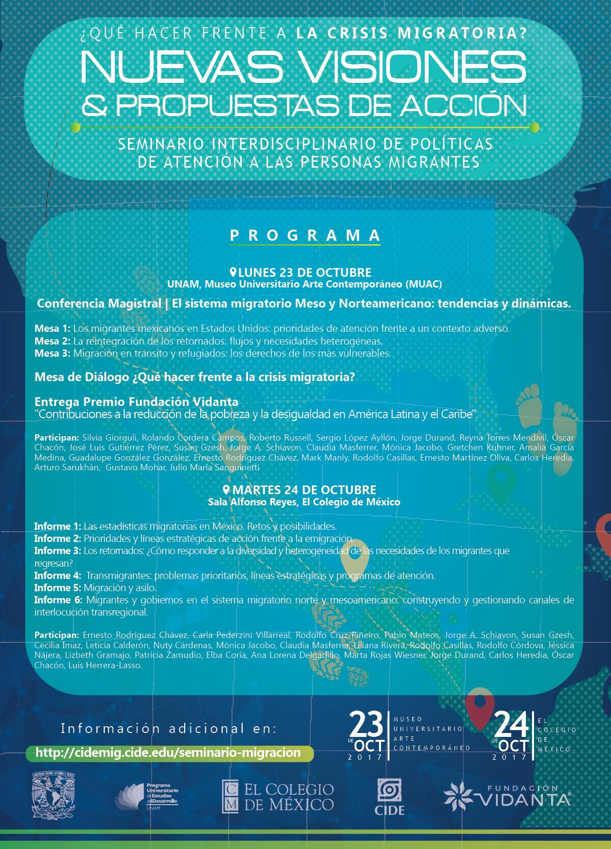 Seminario Interdisciplinario de Políticas de Atención a las Personas Migrantes