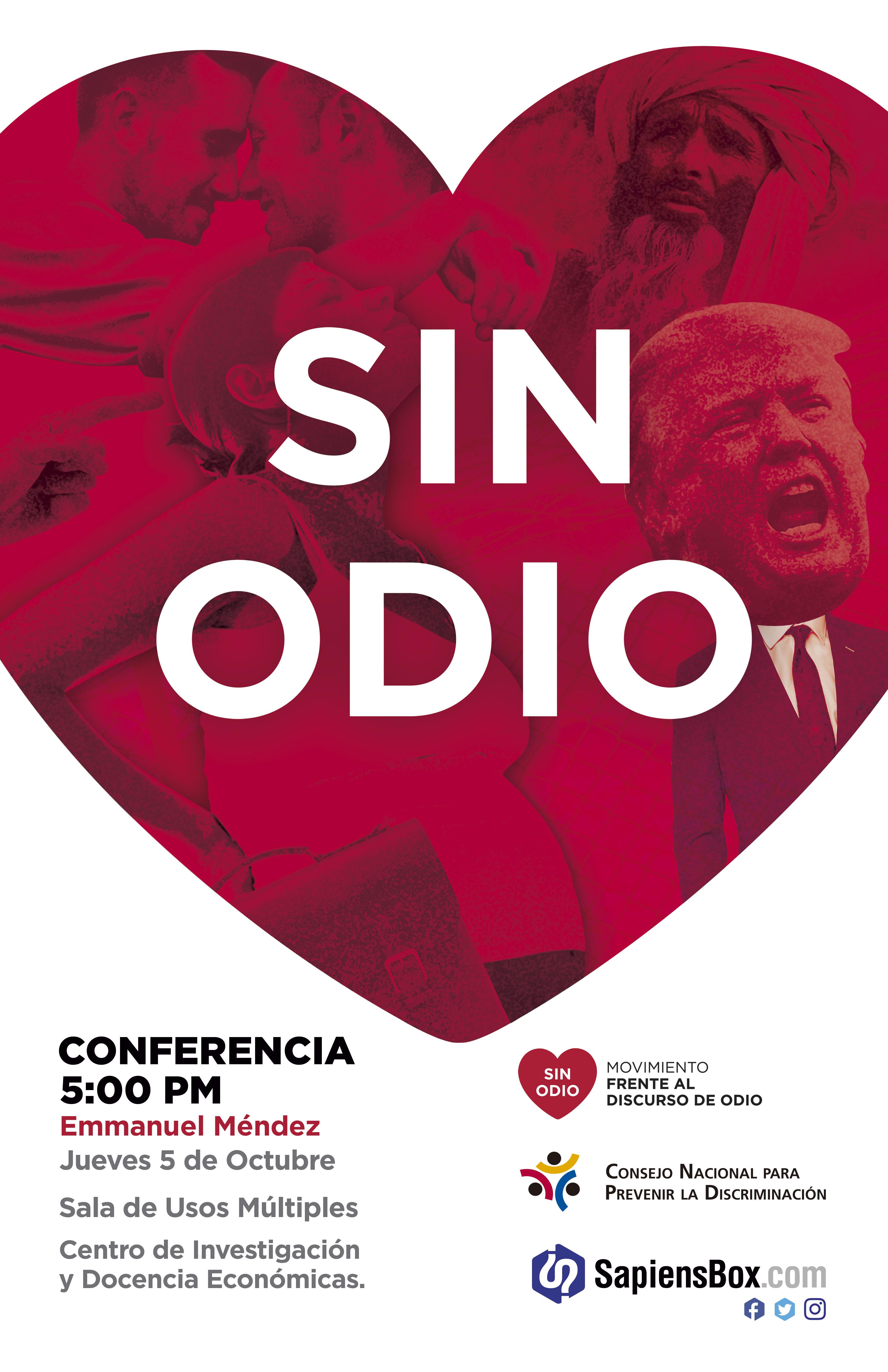 Conferencia «SIN ODIO»