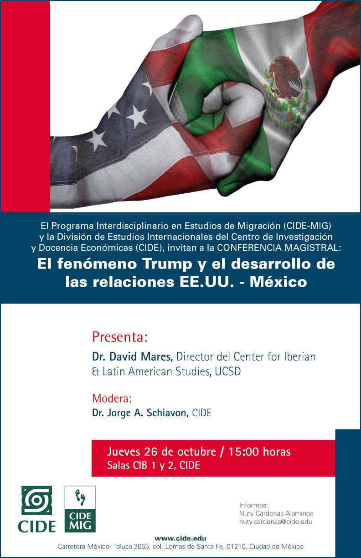 El fenómeno Trump y el desarrollo de las relaciones EE.UU – México