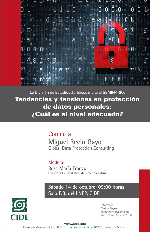 Tendencias y tensiones de protección de datos personales: ¿Cuál es el nivel adecuado?