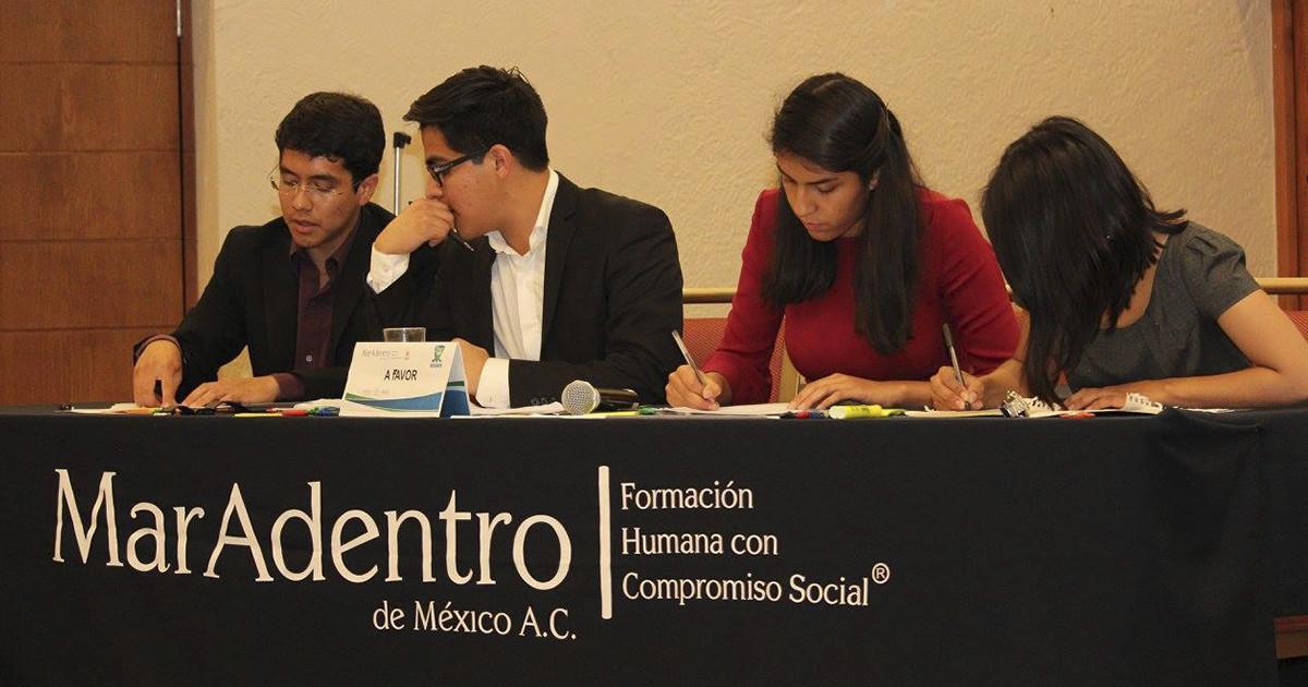Alumnos de la Licenciatura en Políticas Públicas del CIDE Región Centro subcampeones en el CNUD y primer lugar en el Concurso de Política Pública