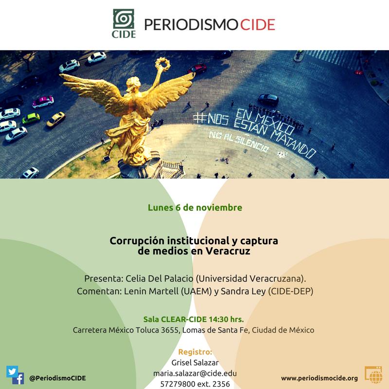 Corrupción institucional y captura de medios en Veracruz