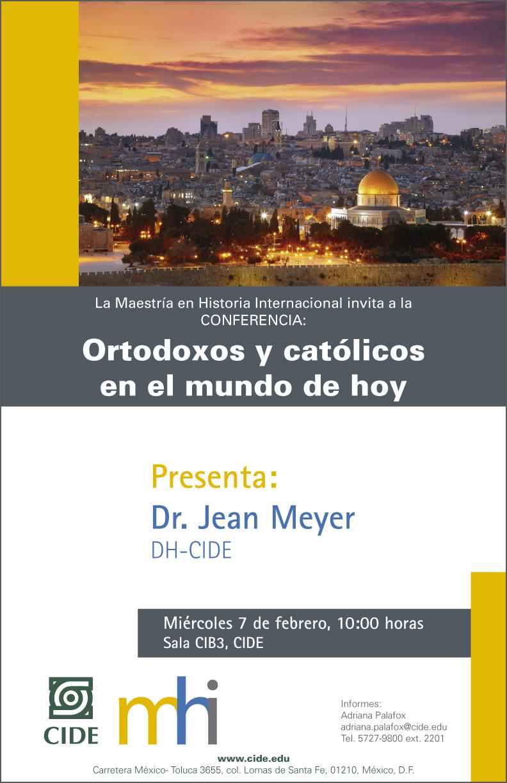 Conferencia «Ortodoxos y católicos en el mundo de hoy»