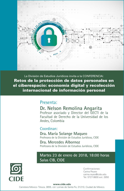 Conferencia «Retos de la protección de datos personales en ciberespacio»