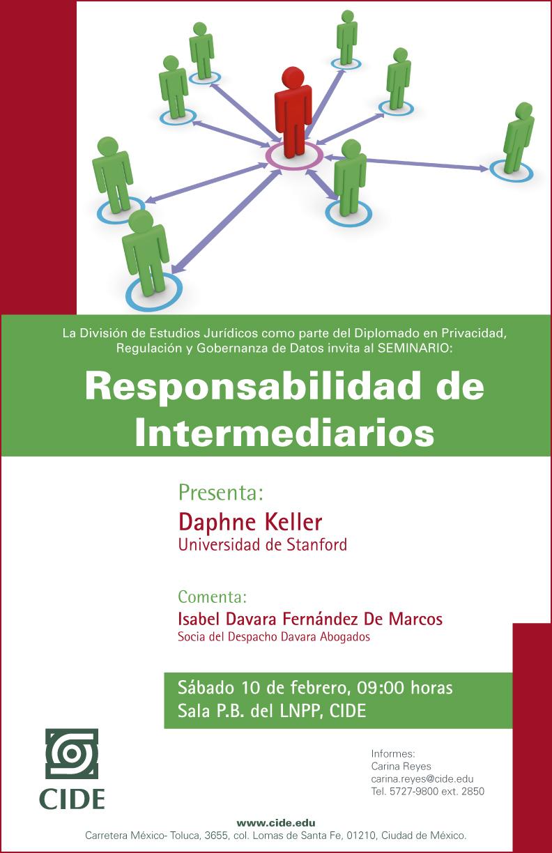 Seminario «Responsabilidad de Intermediarios»
