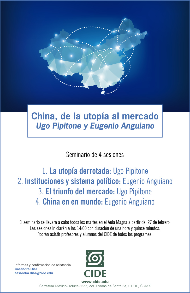 "Seminario ""China, de la utopía al mercado"""